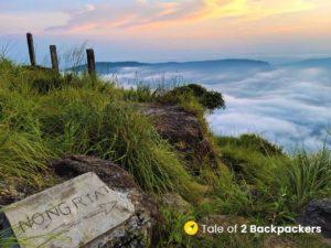 Nohkalikai to Nongriat trekking route