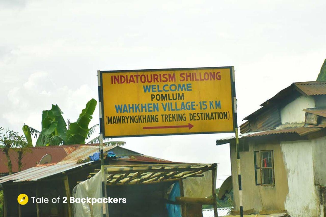 Pomlum Village Signpost