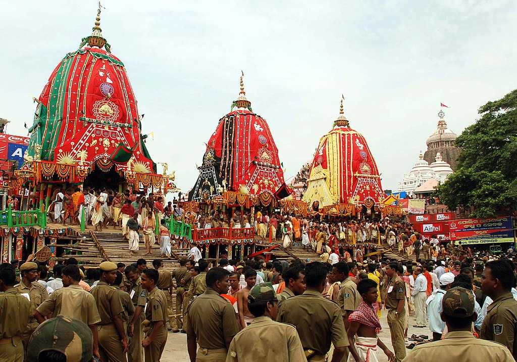 Puri Rath Yatra - religious festivals of India