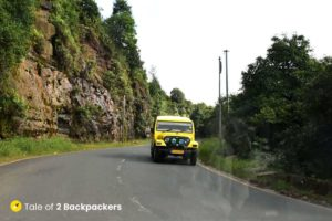 Yellow jeeps in Meghalaya - shared jeeps
