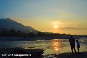 Sunset at Jayanti River