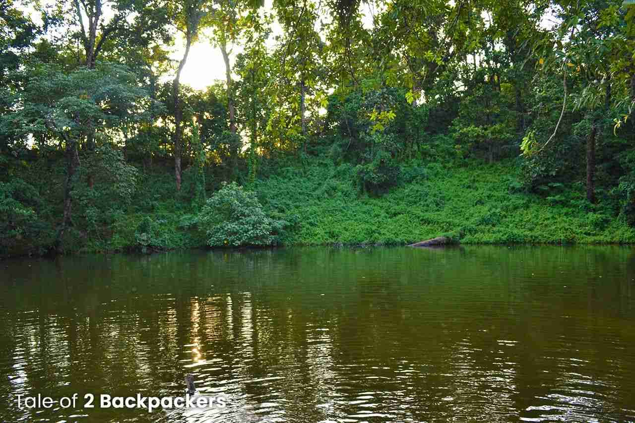 The water body at Pokhri Hill in Buxa Tiger Reserve