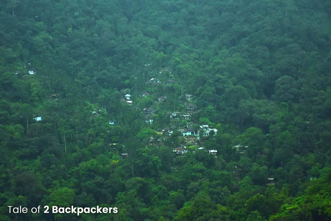View from the Nongriat trek