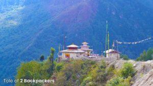 View of Bomdila Monastery