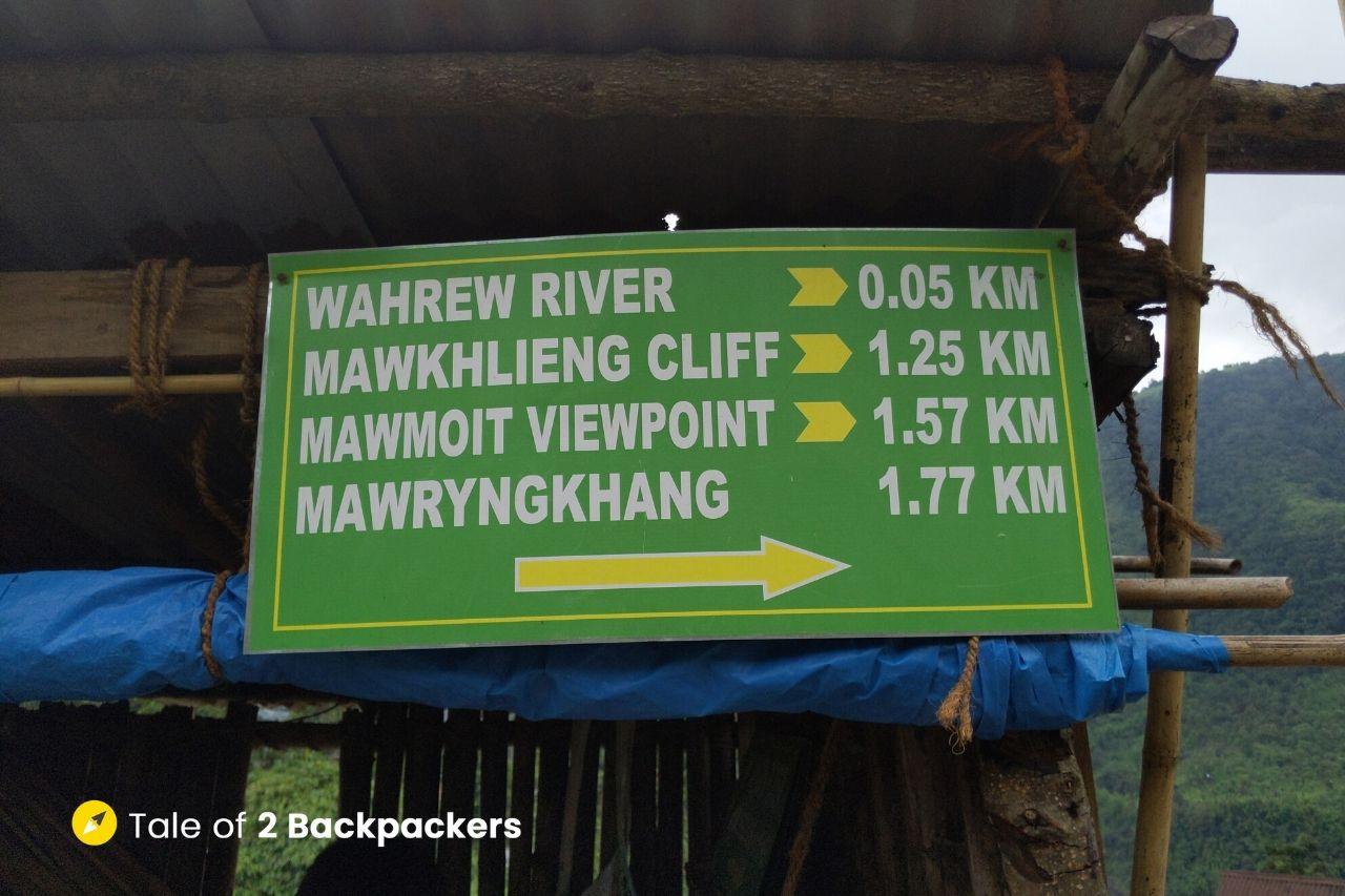Wahkhen village Meghalaya