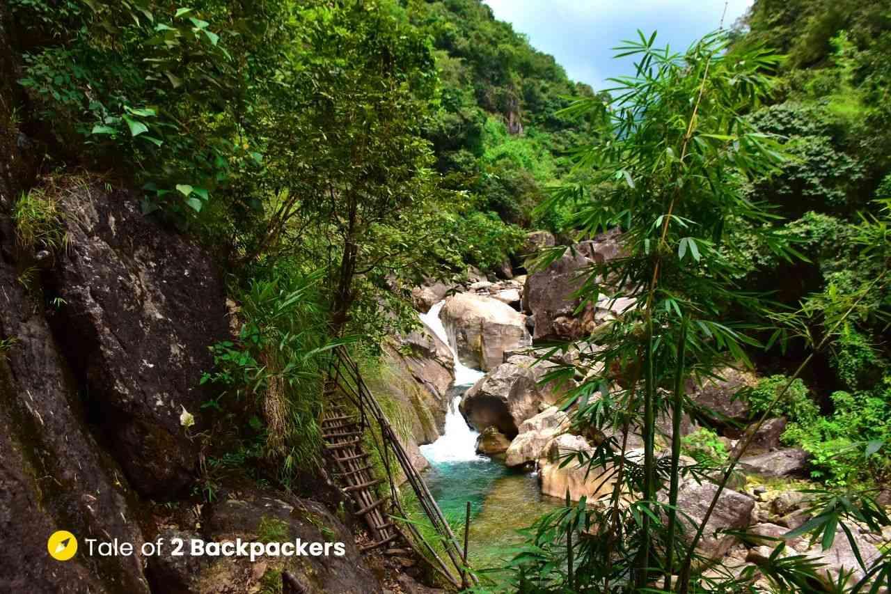 Wahrew River at Mawryngkhang Trek