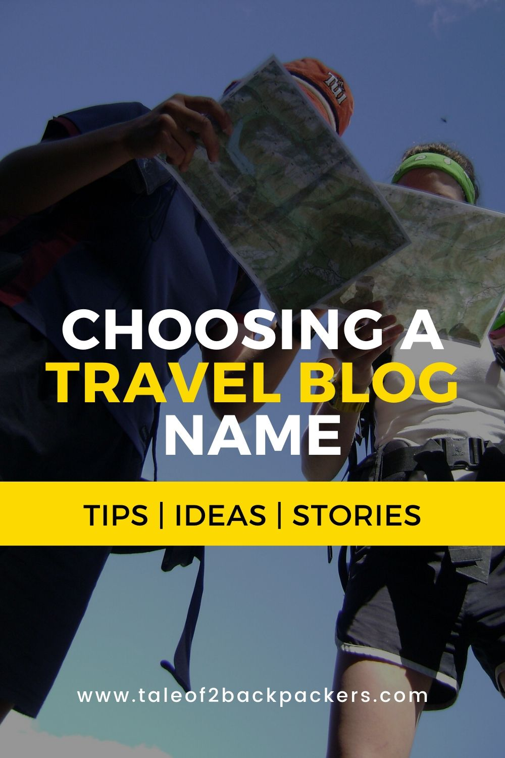 Hiw to choose teh perfect travel blog names - ideas, tips and stories