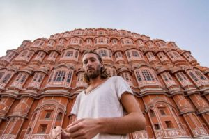Alexander Waltner in Jaipur - India through the eyes of foreign travellers