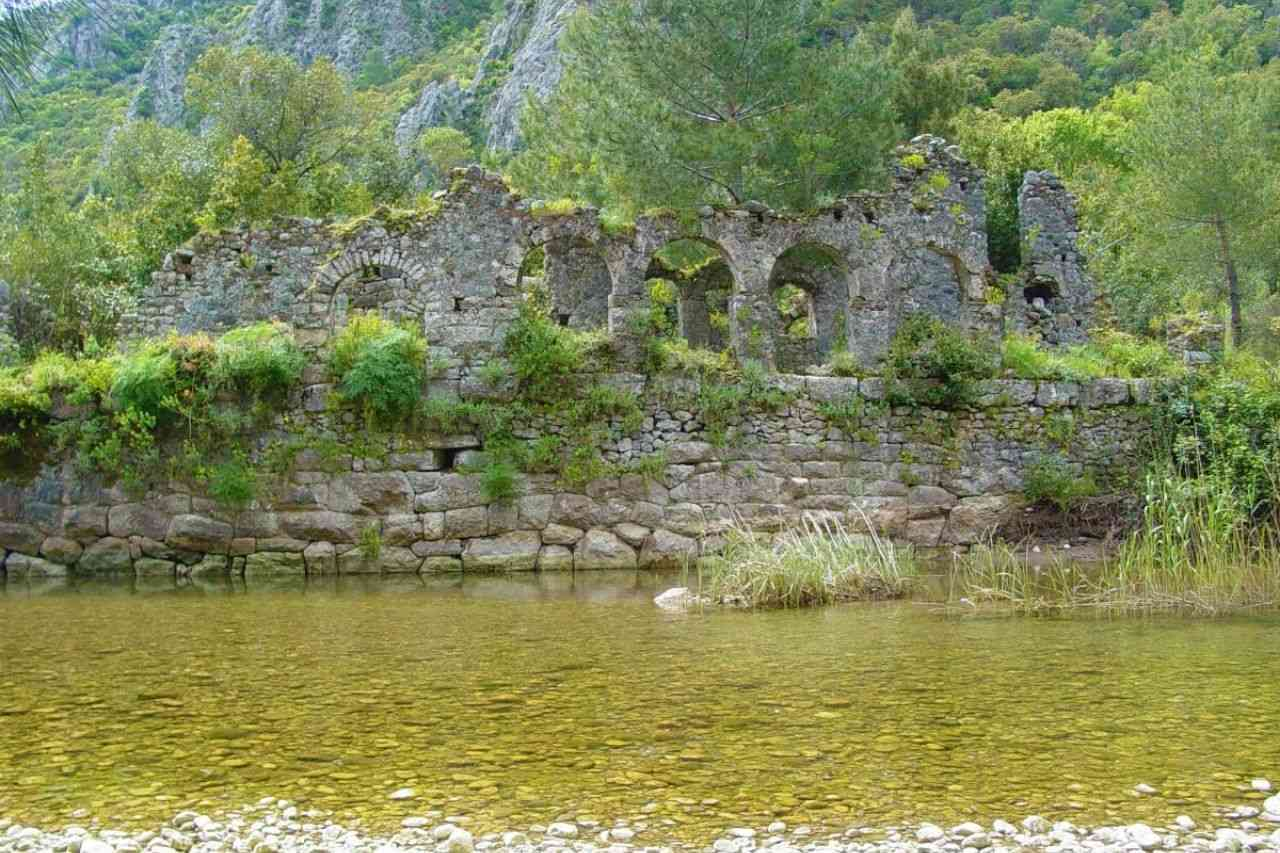 Ancient city of Olympos