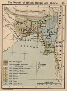 Assam annexation to British India in 1838