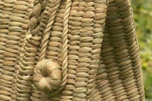 Bags made from Kauna grass in Manipur