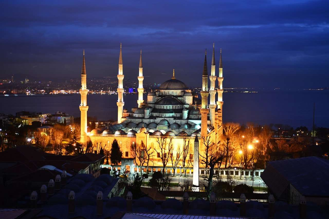 Sultan Ahmed Mosque or Blue Mosque of Istanbul