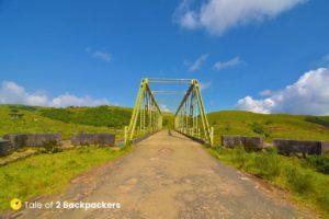 Bridge near Umtynhiang Falls
