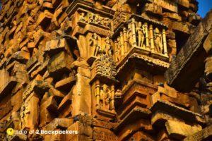 Carving work at Kakanmath Temple Morena