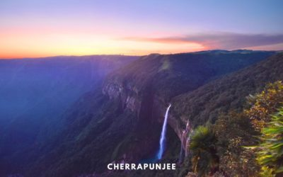 Cherrapunjee – The Monsoon, Waterfall and Bliss