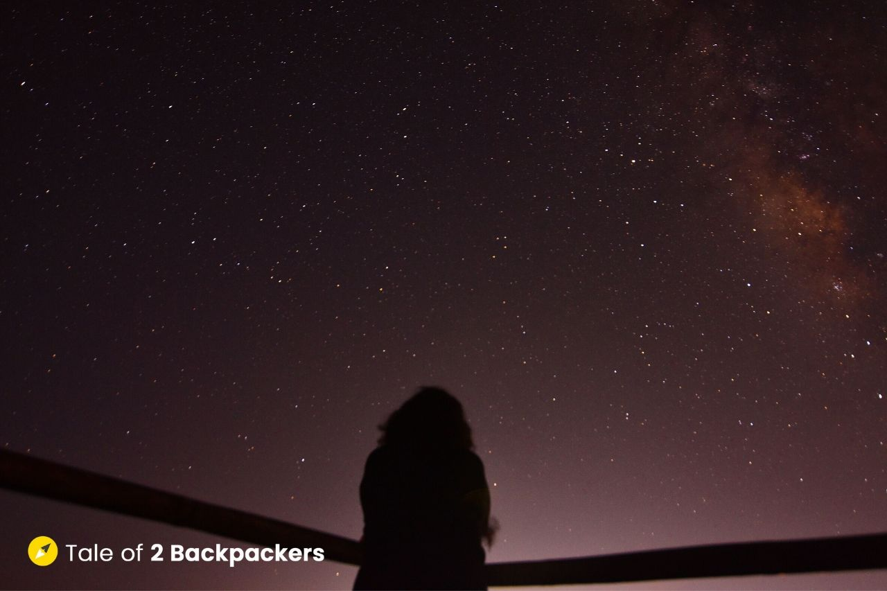 Cherrapunji Night Sky