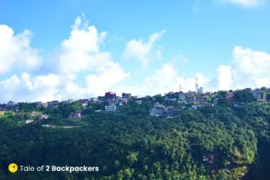 Cherrapunji town