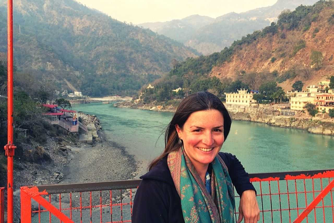 Ellie in Rishikesh - memorable experience in India