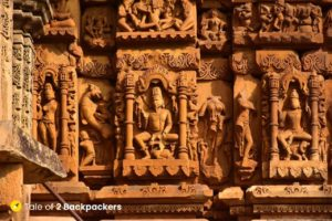 Exquisite carvings at Kakanmath Temple