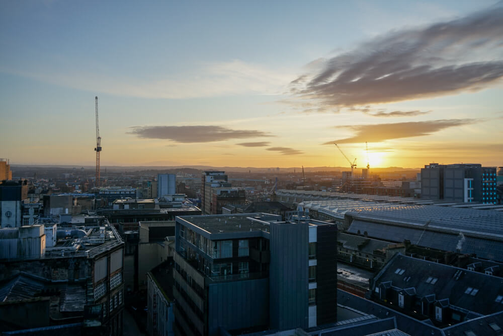 Glasgow Skyline from the Lighthouse - Glasgow Travel guide