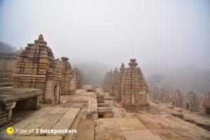 Group of temples at Bateshwar Morena