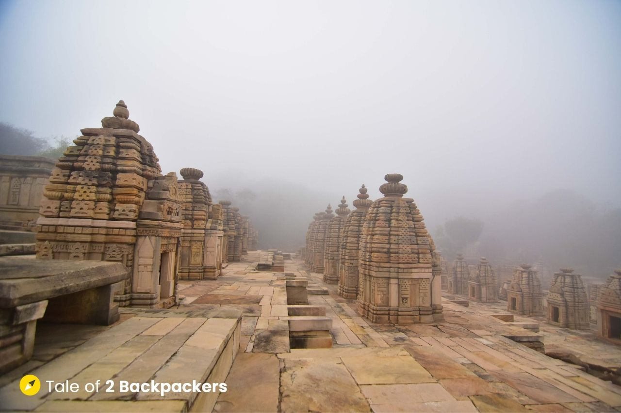 Group of temples at Bateshwar Morena