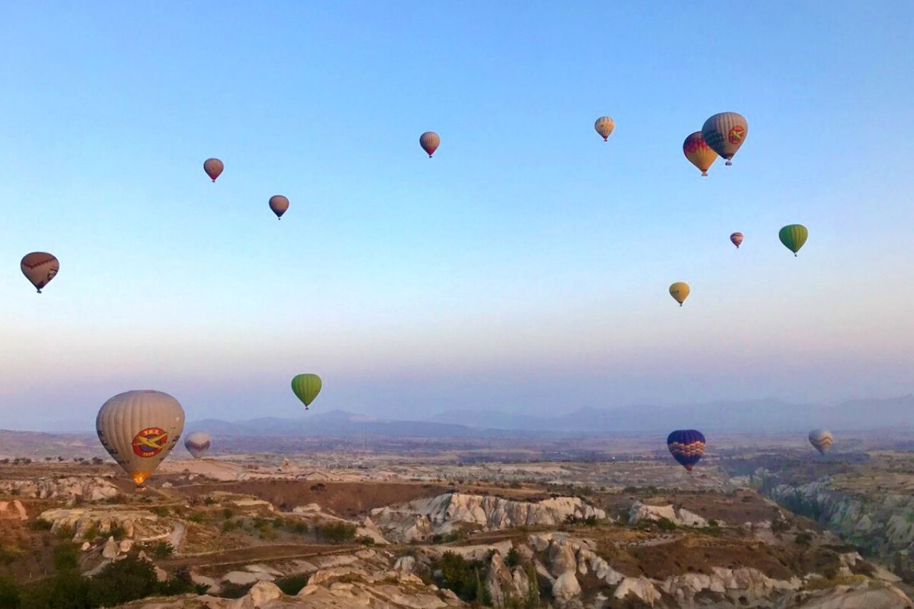 Hot air balloon ride in Cappadocia - Best Things to do in Turkey