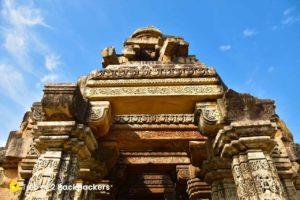 Entrance of Kakanmath Temple, Morena