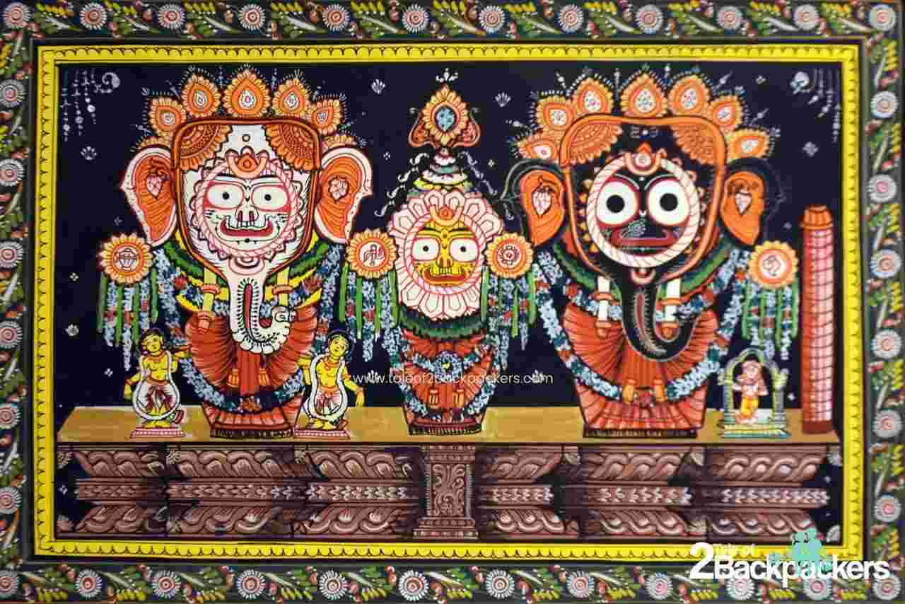 Pattachitra from Odisha - souvenirs from India