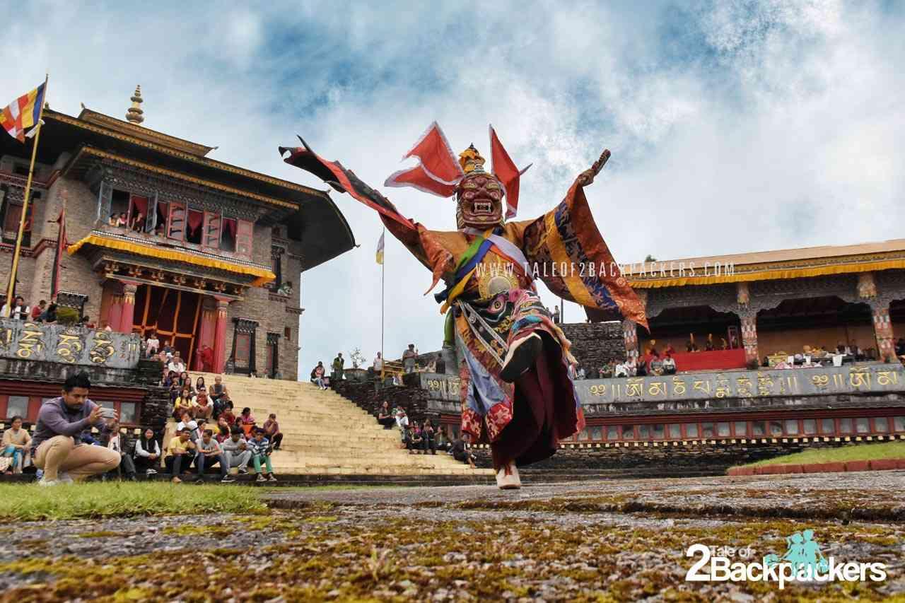 Pangtoed Chham at Pang Lhabsol Sikkim