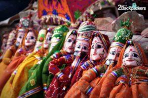 Rajasthani puppet - Kathputli, souvenirs from India