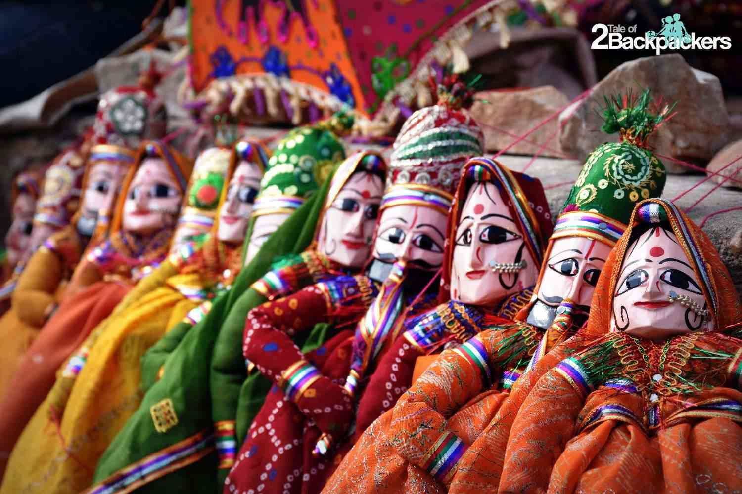 Rajasthani puppet - Kathputli, souvenirs from India