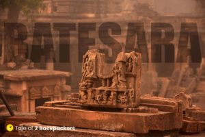Ruins of Bateshwar Temple Complex in Morena