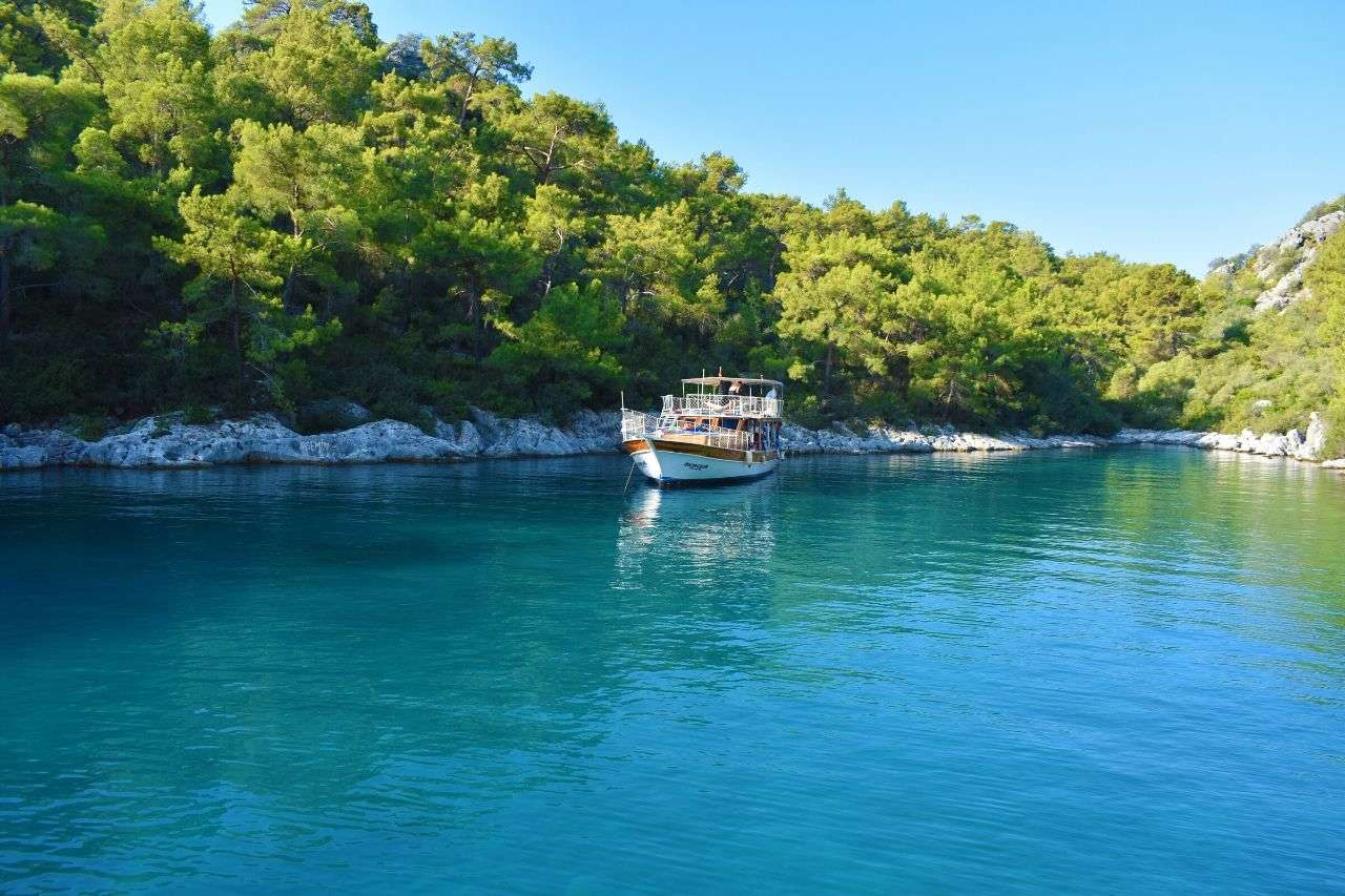 Sailing down the Turquoise Coast - Things to do in Turkey