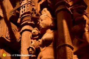 Sculpture at Kakanmath Temple