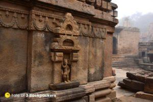 Sculptures at Bateshwar Temple Complex Morena
