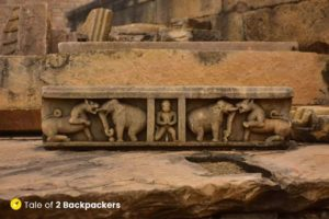 Sculptures at the temple