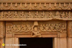 Statue of Lakulisa - Batesara Temple Morena