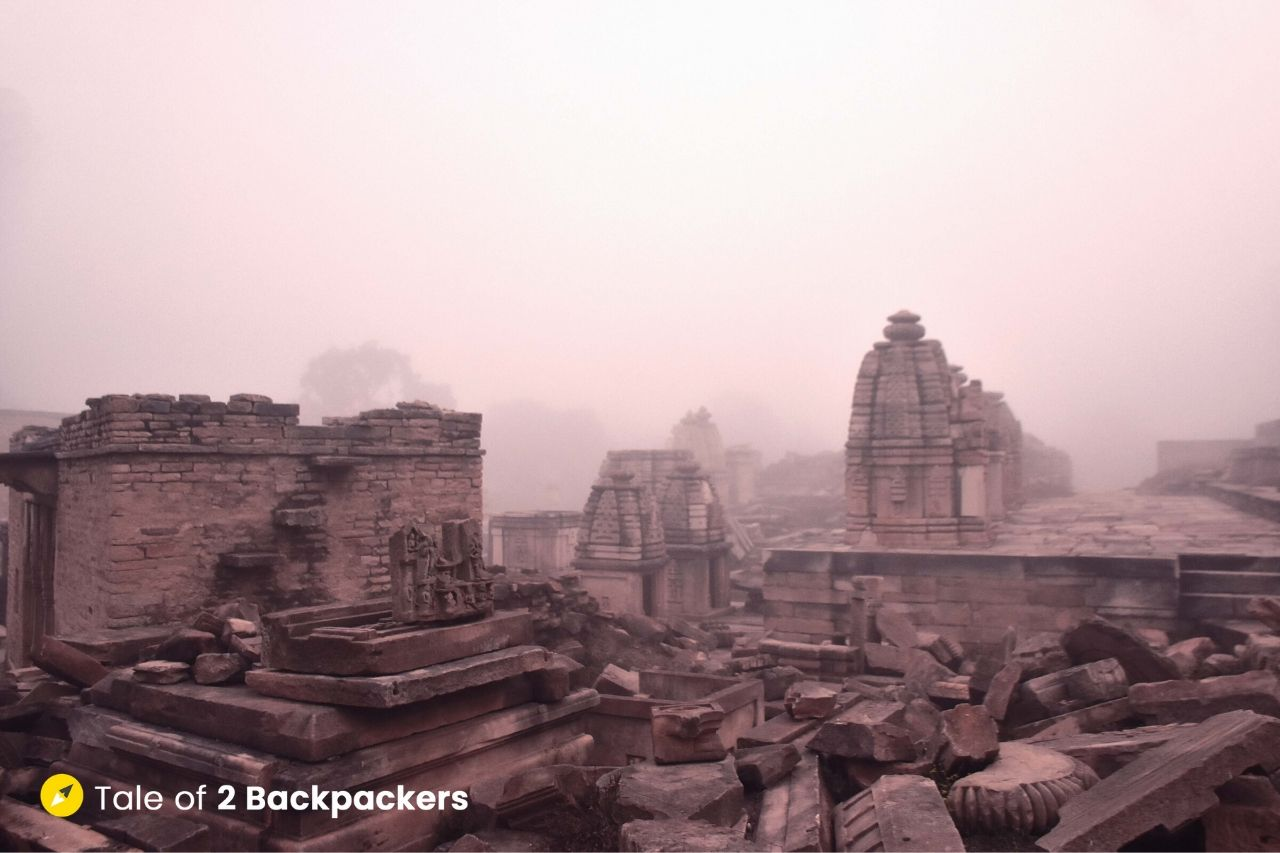 The ruins of Bateshwar Temple (Batesara Group of Temples) in Morena is like solving a jugsaw puzzle