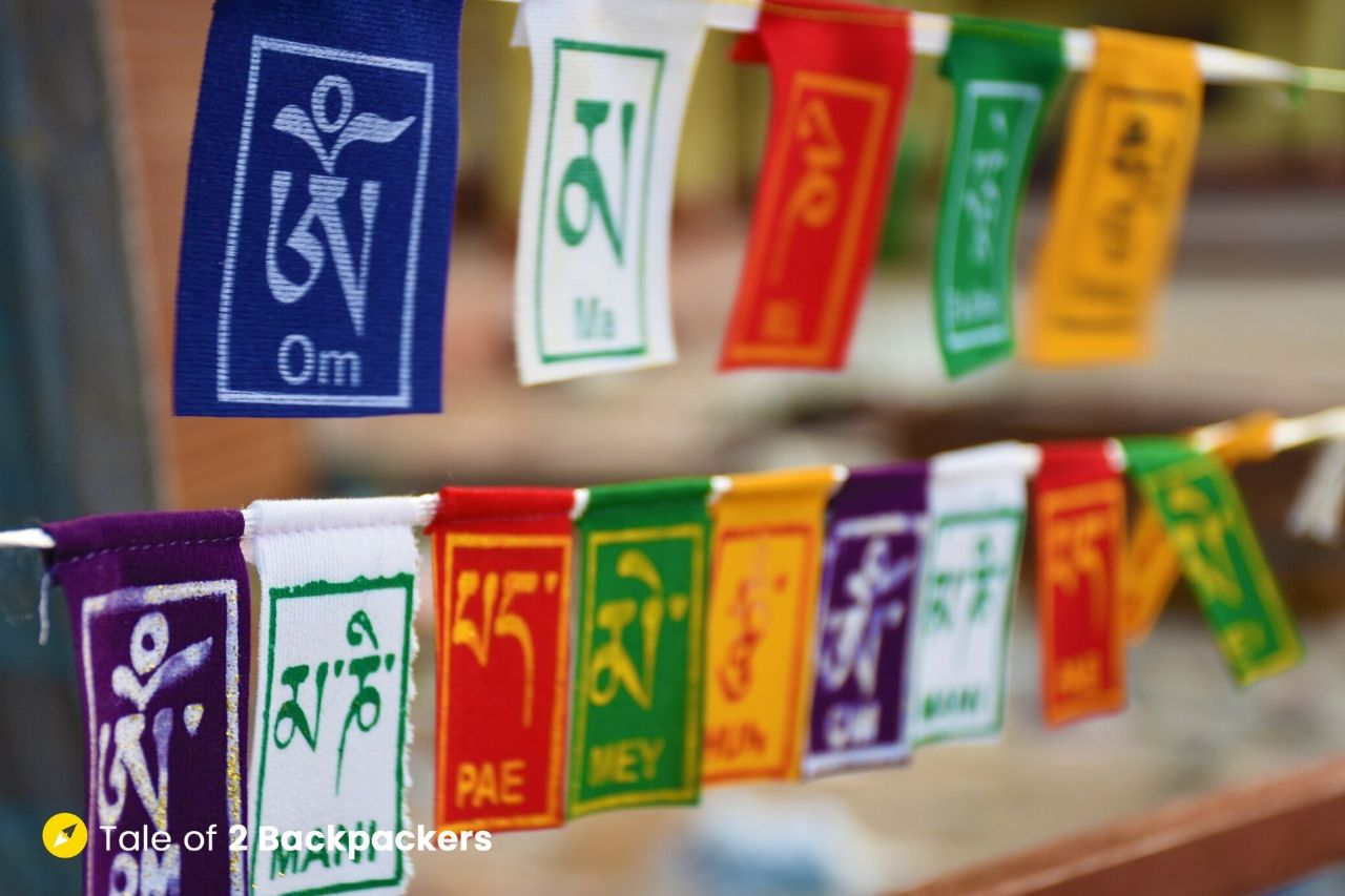 Tibetan Prayer Flag - what to buy in India