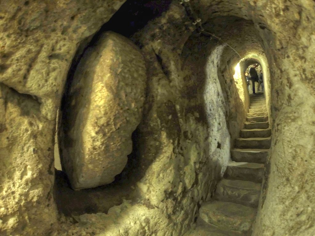 Underground City of Derinkuyu - best things to do in Turkey