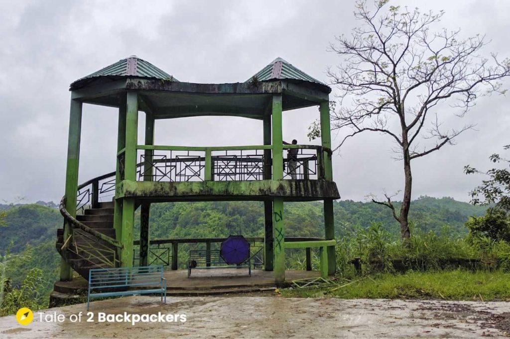Vantwang Viewpoint at Thenzawl Mizoram Tourism