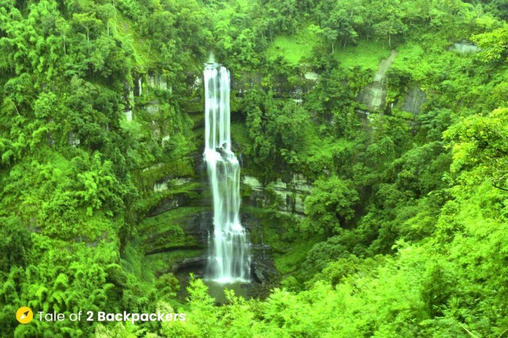 Vantwang Waterfall in Thenzawl - Mizoram Tourism