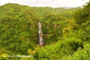 Vantwang Waterfall in Thenzawl Mizoram