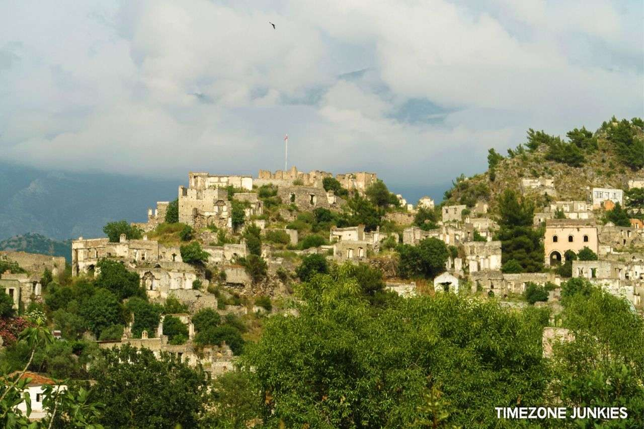 What to do in Turkey - Visiting the Ghost Town of Kayaköy Turkey