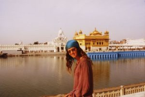 Golden Temple Amritsar _ Foreign travellers in India