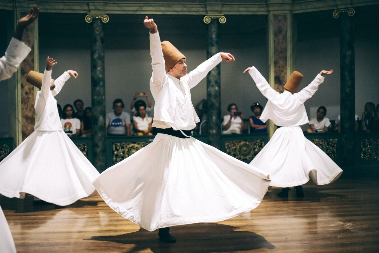 Whirling Dervishes in Konya Turkey