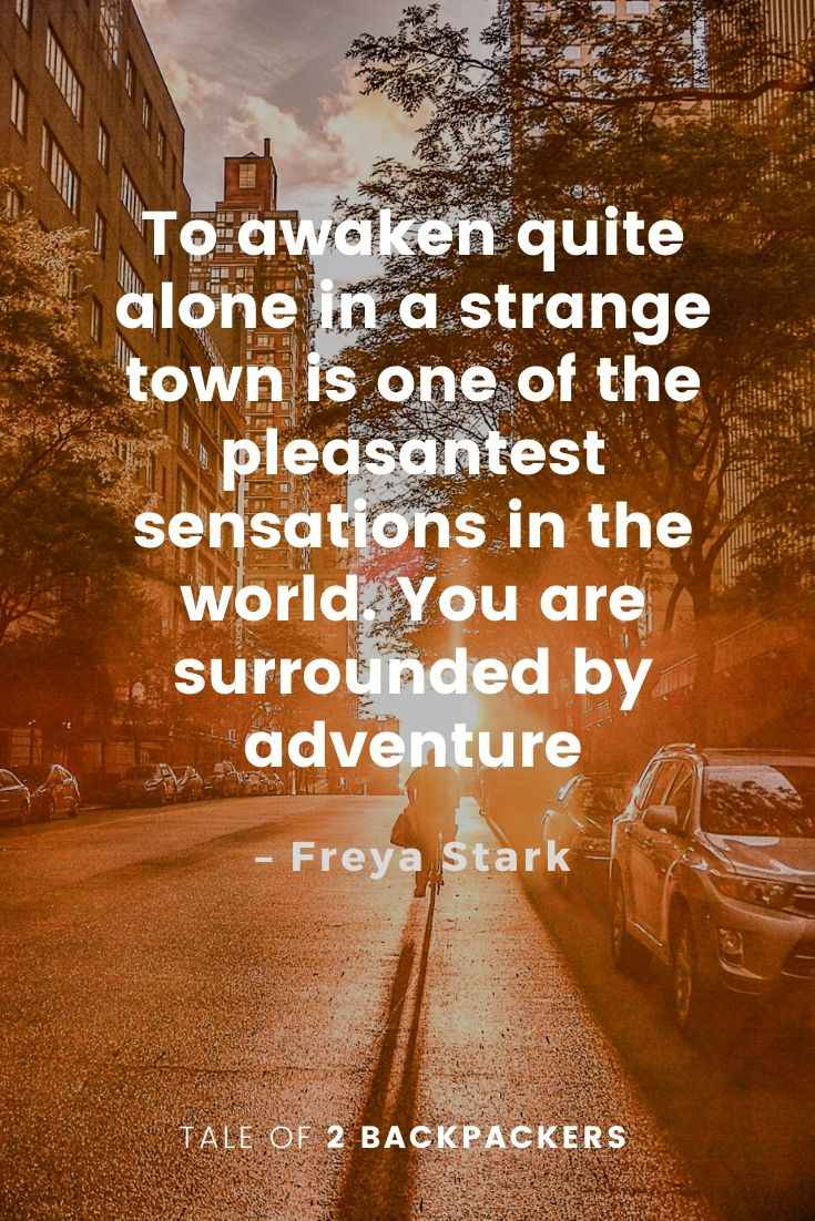 Adventure Quotes by Freya Stark