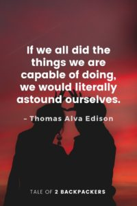 Adventure Quotes by Thomas Alva Edison