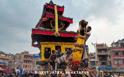 Bisket Jatra, Bhaktapur – A Visually Stunning Festival in Nepal